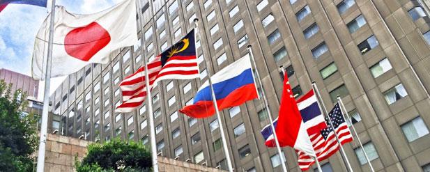 各国の大使館