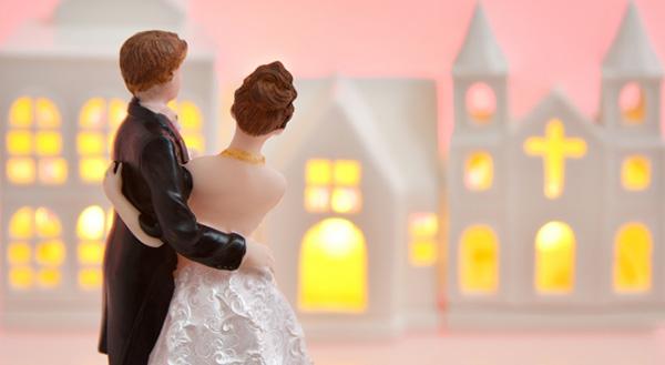 結婚を祝う